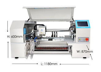 Charmhigh CHMT560P4 SMT P&P Machine , SMT Chip Mounter 0402-5050 SOP QFN